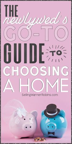 Being a newlywed couple is one of the most exciting parts of life. Everything is new and it's the beginning of the rest of your lives. A big part of that though is deciding as a couple where you'll live. If you're newly engaged or a newlywed you'll want to take a look at this guide to determining the best starter home for your needs as a couple. #realestate Real Estate Buyers, Tiny Living Rooms, Home Buying Process, Real Estate Information, Starter Home, Tiny House Movement, Tiny Spaces, Large Homes, Types Of Houses