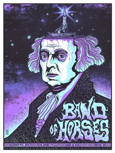 INSIDE THE ROCK POSTER FRAME BLOG: Jim Mazza Band Of Horses Boston and Philadelphia Posters On Sale
