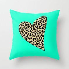 Wild Love Throw Pillow by M Studio