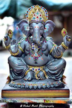 Jai Ganesh, Ganesh Lord, Ganesh Idol, Shree Ganesh, Ganesha Art, Shri Ganesh Images, Ganesh Chaturthi Images, Durga Ji, Durga Goddess