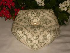 Blackwork 'Tudor Rose & Acorns' Embroidery and Pearl Kit by RedCatt, £8.99