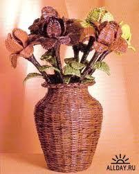 Resultado de imagen para Плетение газеты вазы
