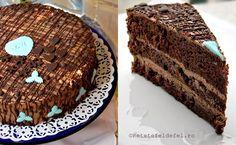 tort de ciocolata si rom Tiramisu, Cooking Recipes, Cake, Ethnic Recipes, Desserts, Rome, Tailgate Desserts, Deserts, Chef Recipes