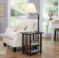 End Tables With Lamps Attached Table End Table With