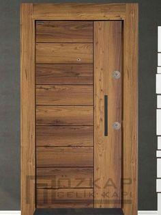 Ucuz Çelik Kapı Modelleri | Smart Çelik Kapı Flush Door Design, Door Gate Design, Bedroom Door Design, Door Design Interior, Front Door Design, Modern Entrance Door, Modern Wooden Doors, Wooden Main Door Design, Contemporary Front Doors