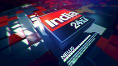 India 24×7 news channel Pitch on Behance