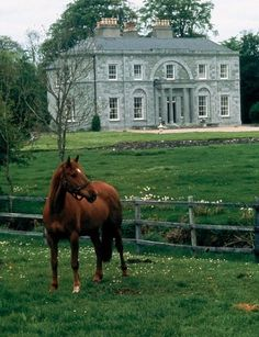 Inside John Huston's Georgian-Style Manor in Ireland English Country Manor, English Manor Houses, English House, English Countryside, Town And Country, Country Life, Country Houses, Country Living, John Huston