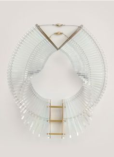 Sarah Angold - Kingla acrylic necklace   White Necklace Fashion Jewellery   Womenswear   Lane Crawford