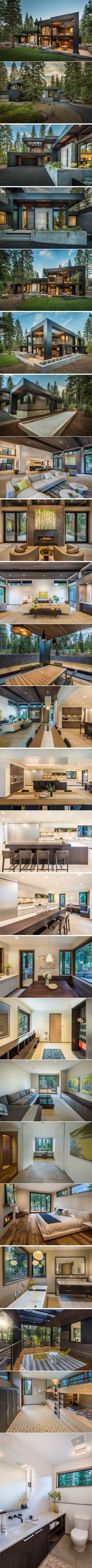 This New California House Makes Itself At Home In The Forest | CONTEMPORIST