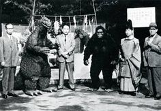 King Kong vs Godzilla production still