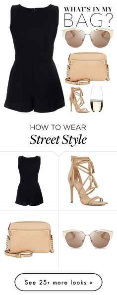 """Street Style"" by mari-marishka on Polyvore featuring Miso, ALDO, Calvin Klein, Christian Dior and Riedel"