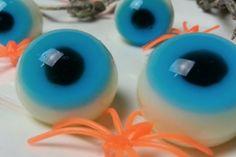 Cuisinez des yeux gélatineux pour Halloween!                              …