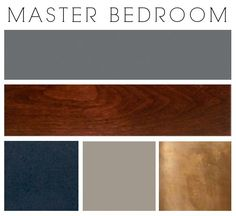 master bedroom paint colors I sort of stumbled upon this color scheme and I really like it - it's unexpected. The walls will be gunmetal gray and there will be spa green as the secondary color (in fabric). Wood Colors, Paint Colors, Colours, Teal Paint, Brown Paint, Home Bedroom, Bedroom Decor, Bedroom Ideas, Master Bedrooms