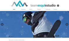 Team Esquí Estudio. #nieve #esquí #deporte #zesis http://www.zesis.com/wp-content/uploads/2013/08/teamweb_vista.png