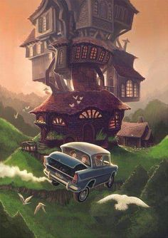 The Burrow- my favourite place in the wizarding world after Hogwarts Fanart Harry Potter, Wallpaper Harry Potter, Arte Do Harry Potter, Harry Potter Poster, Theme Harry Potter, Harry Potter Drawings, Harry Potter Books, Harry Potter Love, Harry Potter Universal