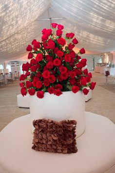 Hardscrabble Country Club Wedding Design:  Details Weddings & Events Flowers:  Expressions! Floral