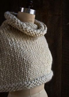 Mountain Capelet | Purl Soho - Create