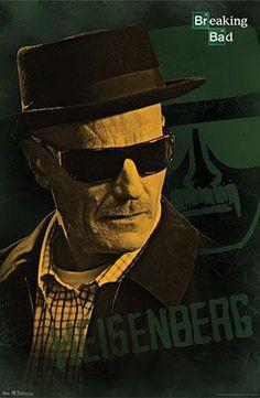 Póster Breaking Bad. Heisenberg (Walter White)