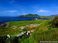 The Ring of Kerry, Ireland will have you seeing green.
