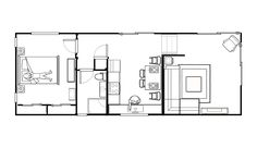 Orange Apartment layout Orange House, Apartment Layout, Holiday Accommodation, Breezeway, Indoor Outdoor, Floor Plans, The Unit, Modern, Trendy Tree