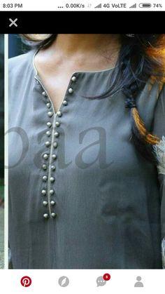 Do you require the best quality Elegant Designer Salwar suit plus Elegant Design ladies Punjabi Suit then CLICK VISIT link above for more options Salwar Neck Designs, Churidar Designs, Kurta Neck Design, Neck Designs For Suits, Neckline Designs, Kurta Designs Women, Dress Neck Designs, Sleeve Designs, Blouse Designs