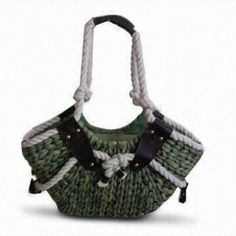 Fashionable Beach Bags with Cotton Rope Handles