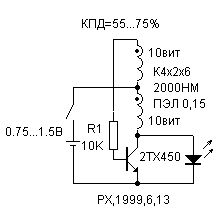 DC-DC converter for LED circuit