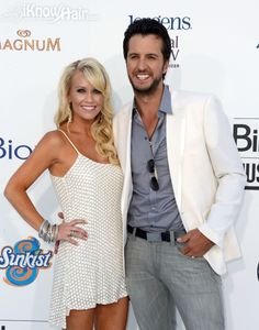 Luke Bryan couple