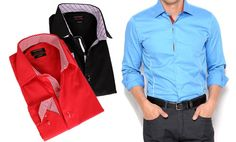 T.R. Premium 2-Tone Dress Shirts Deal of the Day   Groupon Dress Shirts, 6f742116896