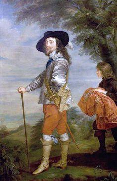 Anthony van Dyck Charles I (1600-1649) Warwick Shire Hall www.artuk.org/artworks/charles-i-16001649-55602