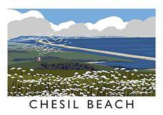 Chesil Beach Art Print (A3) Chequered Chicken https://www.amazon.co.uk/dp/B01M224HLD/ref=cm_sw_r_pi_dp_x_lP5-xbB0GCRME