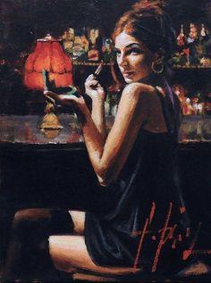 Fabian Perez, 1967 ~ Reflections of a Dream Fabian Perez, Romain Gary, Street Art, Jack Vettriano, Illustrations, Love Art, Female Art, Painting & Drawing, Persona