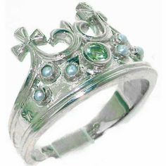 English Solid 925 Sterling Silver Genuine Natural by GemsofLondon, $119.00