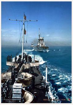 Regia Marina Battleships 1938