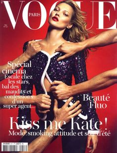 Vogue Paris May 2011 Kate Moss by Mert & Marcus