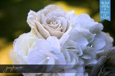 Burlap Flowers Photo by Joey Ikemoto