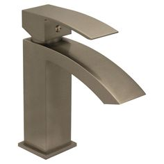 Jem Single Handle Bathroom Faucet with Pop-Up Waste