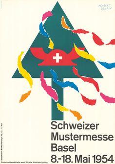 Herbert Leupin, Schweizer Mustermesse Basel, 1954