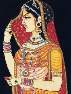 join us through the heavens gate Mughal Miniature Paintings, Mughal Paintings, Kalamkari Painting, Madhubani Painting, Indian Art Paintings, Rajasthani Painting, Rajasthani Art, Indian Artwork, Indian Folk Art