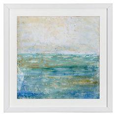 Tranquil Coast 1 framed print, $89.95