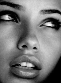 Adriana Lima's beautiful face....