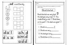 Welcome to Worksheets for Africa! It is our goal to ensure that teachers, parents, care givers and educators have access to quality educational worksheets Writing Worksheets, Kindergarten Worksheets, Middle School Health, Word Family Activities, Family Worksheet, Quotes For Students, Word Families, Teaching Materials, Education Quotes