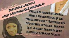 Oostenrijk: ambtenaren & docenten mogen GEEN hoofddoek op, uiteraard WEL kruisjes toegestaan - Liefde voor Holland