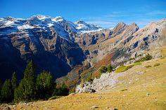 Valle de Pineta y macizo de Monte Perdido. Bielsa.