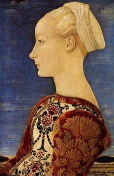 Antonio del Pollaiolo 1492-1498  young woman