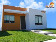 #lasmejorescasasdemexico LAS MEJORES CASAS DE MÉXICO. UXMAL, es un hermoso modelo de vivienda que podrá adquirir en nuestro fraccionamiento Los Héroes Mérida y consta de sala, comedor, cocina, 2 recámaras, 1 baño, protectores y mosquiteros. En Grupo Sadasi, le invitamos a comprar su casa en nuestros desarrollos de Yucatán. rvieyra@sadasi.com