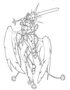 Sister of Battle 2 by Auzzymo   Warhammer art, Warhammer ...