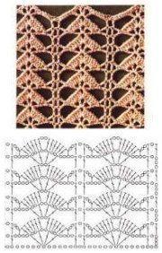 Free Knitting Pattern for Easy Jordan Baby Blanket - This easy blanket is knit w.Ravelry: Cedar Point pattern by Espace Tricot Sidney Crafts: Modinh Filet Crochet, Crochet Diagram, Crochet Chart, Crochet Motif, Knit Crochet, Crochet Flower Patterns, Crochet Stitches Patterns, Crochet Designs, Stitch Patterns