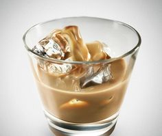 Canadian Cream Cocktail  (Serve this drink at Christmas or holiday parties. Similar to Baileys, this version uses a Canadian whiskey)