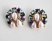 Aurora Borealis - Northern Lights - GVS Team - An Etsy treasury by VintageOasisAccents that features our earrings!  Double Click through to see all the other fantastic pieces!